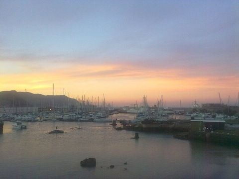 Simons Town Harbour at Dusk