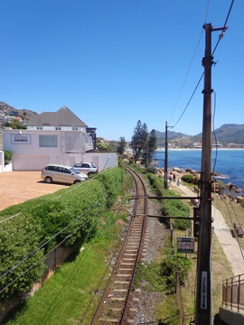 Train line to Fish Hoek